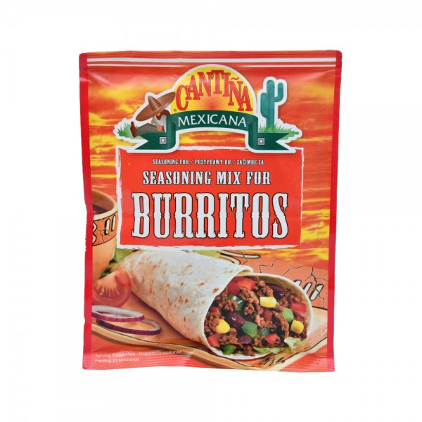 CANTINA MEXICANA Seasoning Mix For Burritos 35G 204353-V001 by Cantina Mexicana