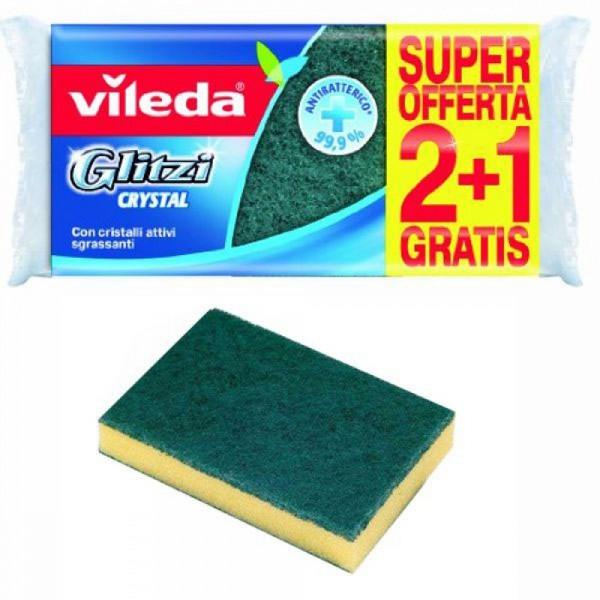 Vileda Glitzi Fibra Verde 2+1 206933-V001 by Vileda