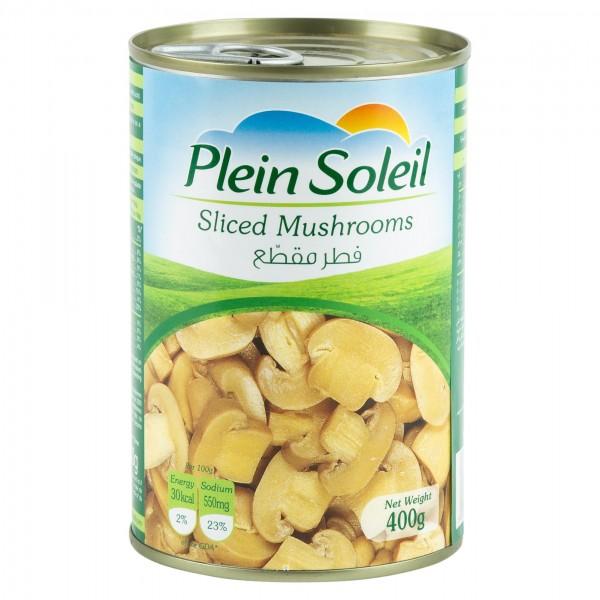 Plein Soleil Sliced Mushrooms Canned 400G 209237-V001 by Plein Soleil