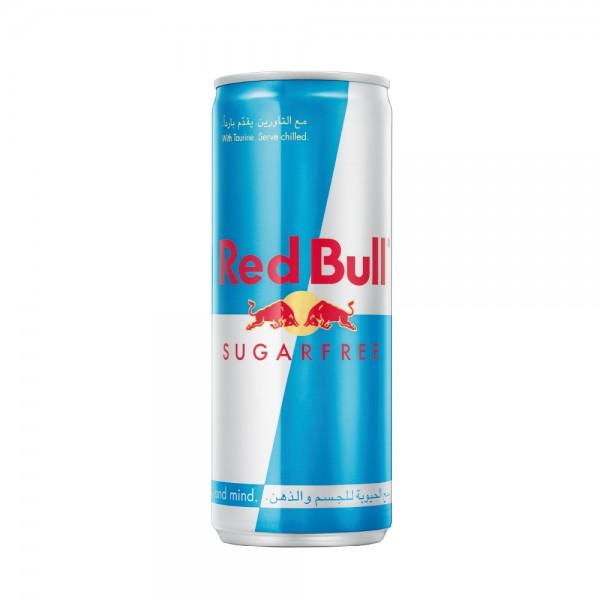 Red Bull Energy Drink Sugar Free 250ml 209486-V001 by Red Bull