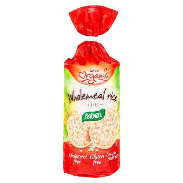 Santiveri Gluten Free Wholemeal Rice Cakes 130G 209840-V001 by Santiveri