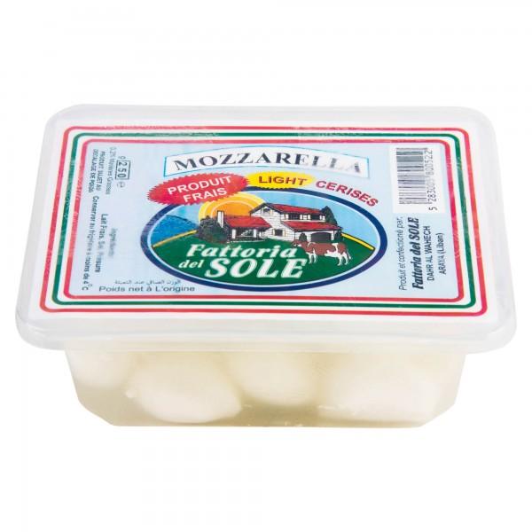 Fattoria Del Sole Mozzarella Piccolo Light 250G 211009-V001 by Fattoria del Sole