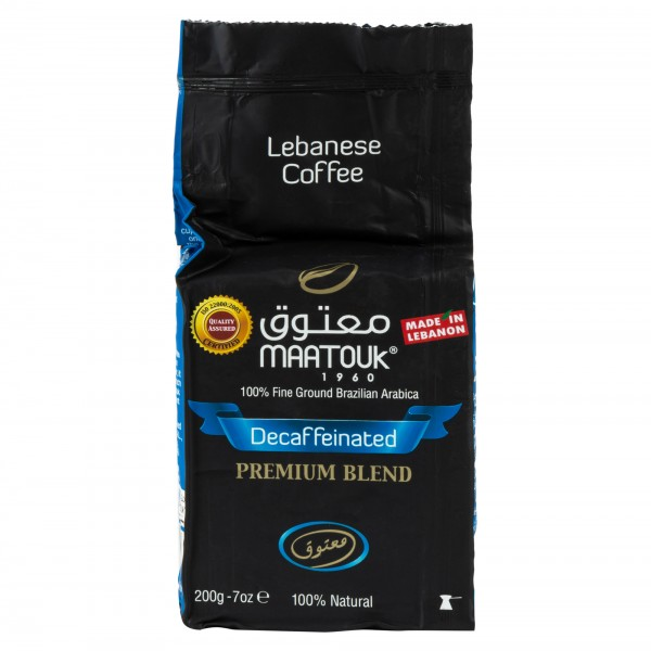 Maatouk Private Blend Decaffeinated - 200G 211062-V001 by Maatouk