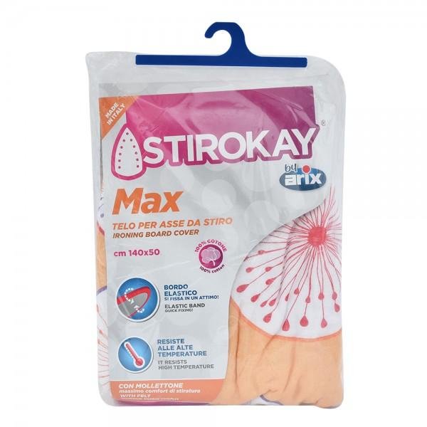 arix Stirokay Max Ironing Board Cover 140x50cm 213221-V001 by Arix