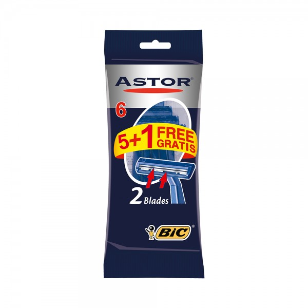 Astor Twin Normal Razors 5 Pieces 213493-V001 by Astor