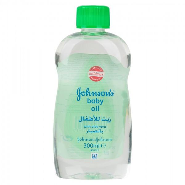 Johnson & Johnson Baby Oil Aloe Vera 300ml 215908-V001 by Johnson & Johnson