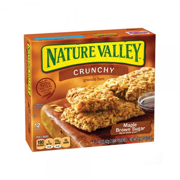 NATURE VALLEY GRANOLA BARS MAP+BWN SUGAR 216003-V001 by Betty Crocker