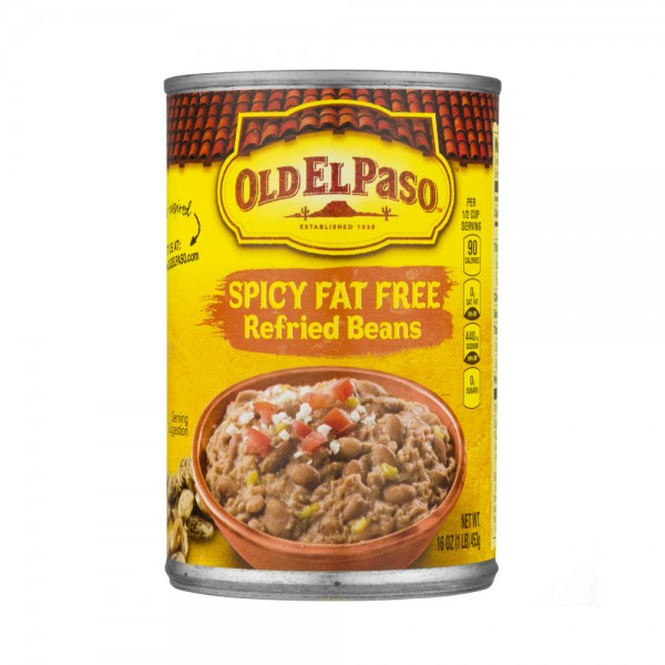 REFRIED BEANS FF SPICY 216251-V001 by Old El Paso