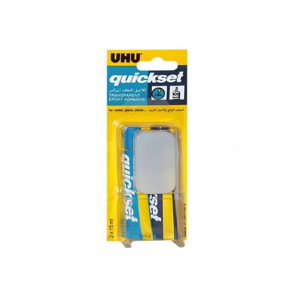 UHU Quick Set Epoxy 2x15ML 220641-V001 by UHU