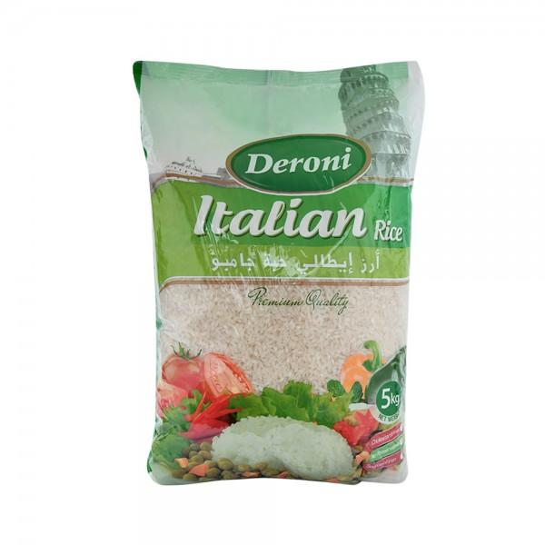 Deroni Italian Rice Jumbo 5kg 222681-V001 by Deroni