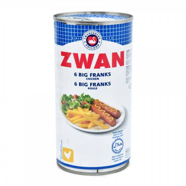 Zwan Chicken Big Franks 300G 225603-V001 by Zwan
