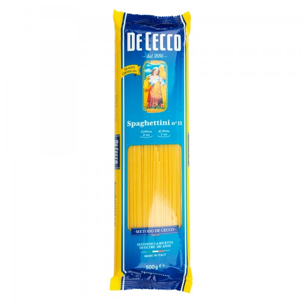 De Cecco Spaghettini 11 500G 225719-V001