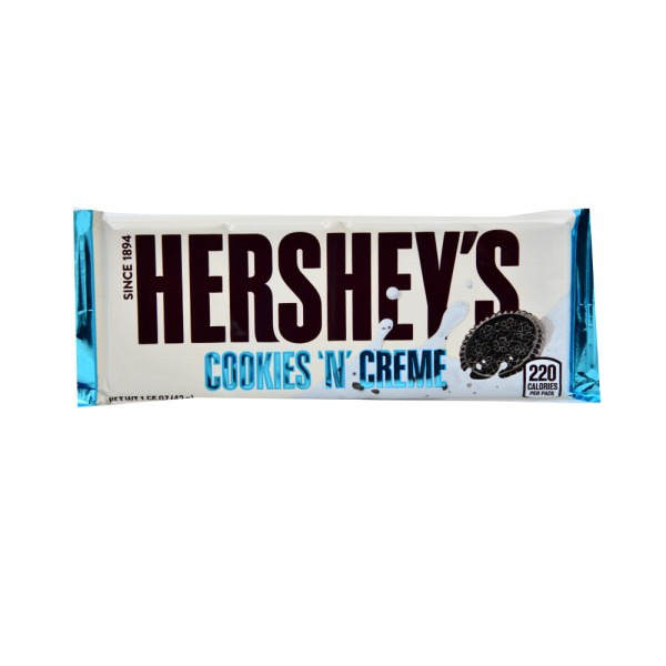 Hersheys Crunchy Cookie Bar White Choco - 43G 227374-V001 by Hershey's