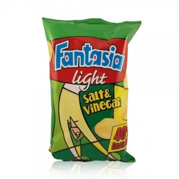 Fantasia Light Salt & Vinegar Chips - 72G 227897-V001 by Fantasia