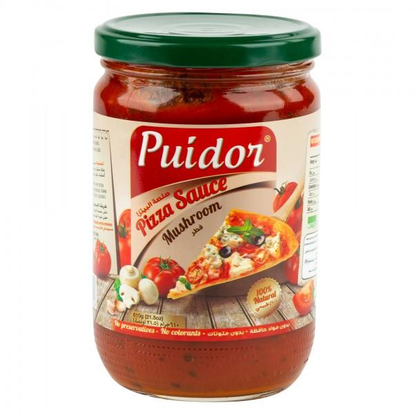 Puidor Pizza Sauce Mushroom 610G 232193-V001