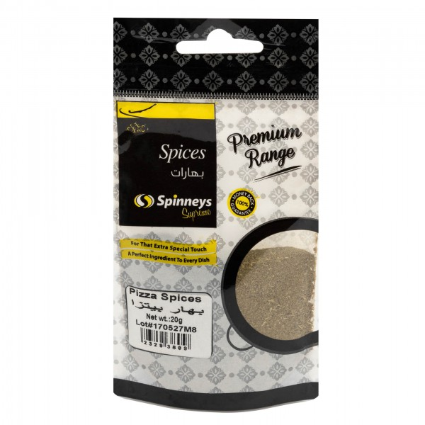 Spinneys Pizza Spices 20g 232938-V001 by Spinneys Food