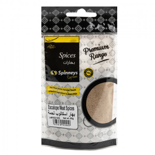 Spinneys Meat Escalope Spices 50g 232942-V001 by Spinneys Food