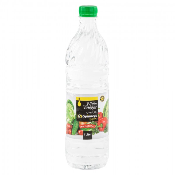 Spinneys White Vinegar 1L 236500-V001 by Spinneys Food