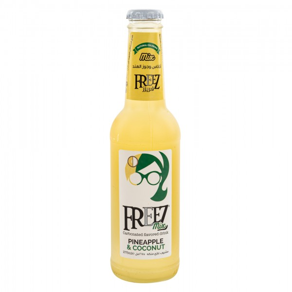 Freez Pineapple & Coconut Alcohol Free Mix 275ml 237380-V001 by Freez