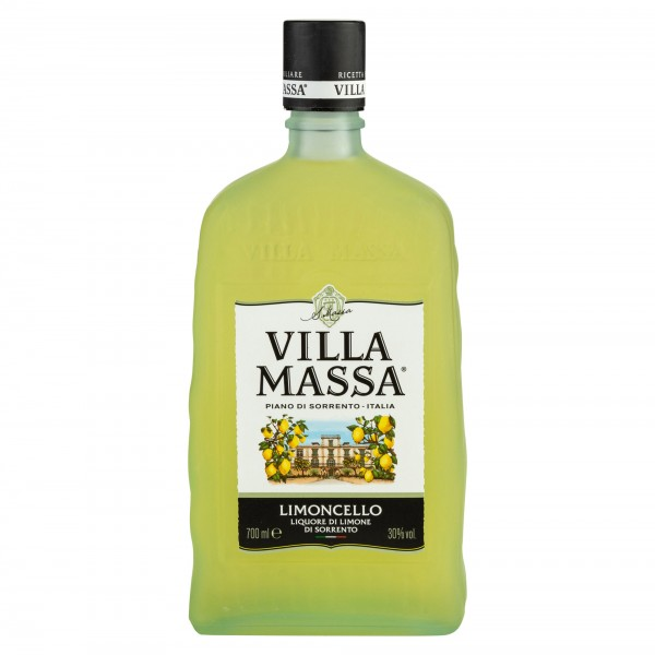Villa Massa Limoncello Liqueur 70cl With 2 Flute Glass 242097-V001