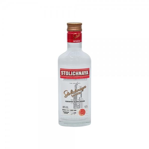 Stolichnay Russian Vodka - 200Ml 245233-V001 by Stolichnaya