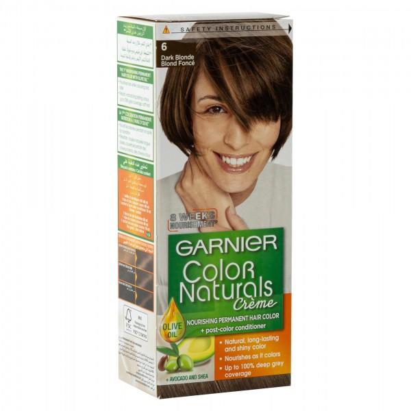 Garnier Color Naturals 6 Dark Blonde 1Pc 246756-V001 by Garnier