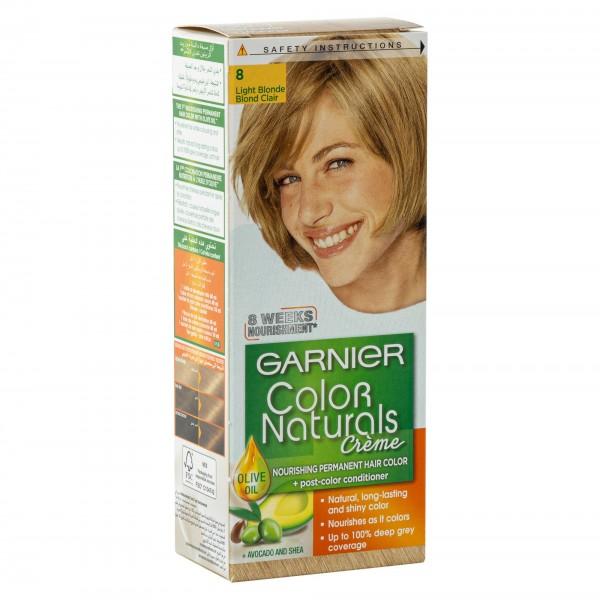 Garnier Color Naturals 8 Light Brown 1Pc 246760-V001