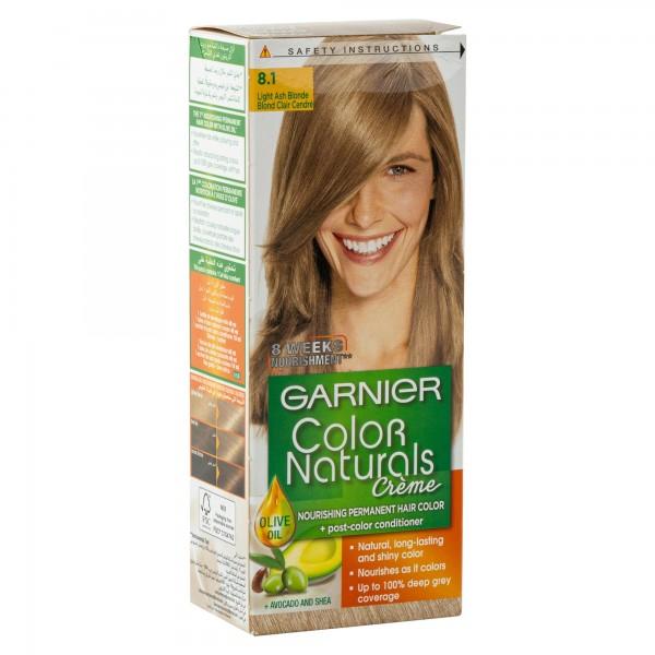 Garnier Color Naturals 8.1 Light Ash Blonde 1Pc 246784-V001