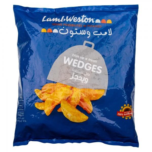 Lamb Weston Wedge Cut Skin-On Frozen 750G 258505-V001 by Lamb Weston