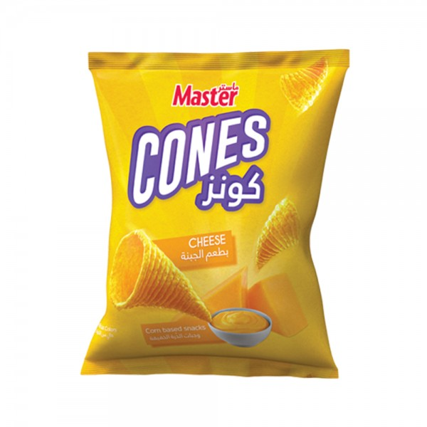 Master Chips Cheese Cones - 93G 260365-V001 by Master Chips