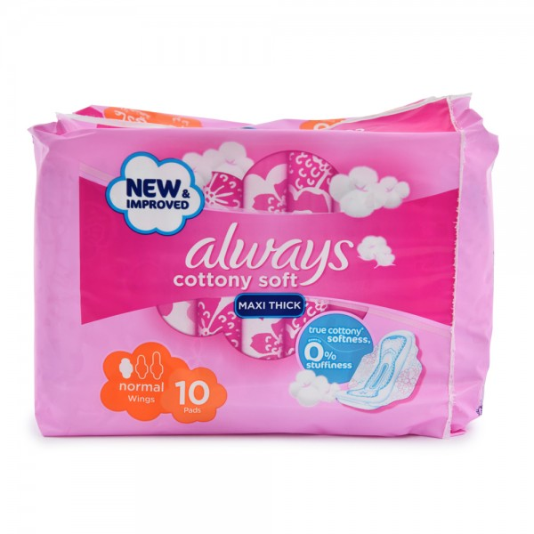 Always Sensitive Normal 10 Pieces 264944-V001 by Always