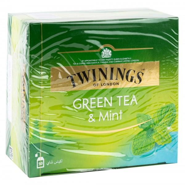 Twinings Green Tea & Mint 50G 265149-V001