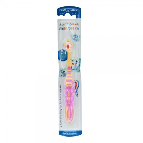 Aquafresh Milk Teeth Soft Toothbrush 0-2 Years 266302-V001 by Aquafresh