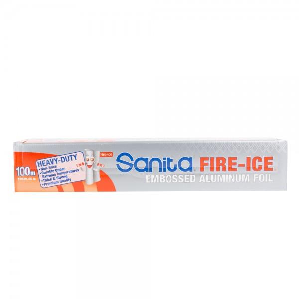 Sanita Fire Ice Aluminum Foil 100sq.ft 266792-V001 by Sanita