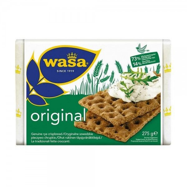 Wasa Gluten Free Original Crispbread 275G 268266-V001 by Wasa