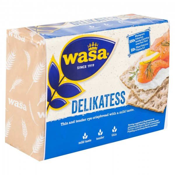 Wasa Delikatess Crisp Bread 270G 268267-V001 by Wasa