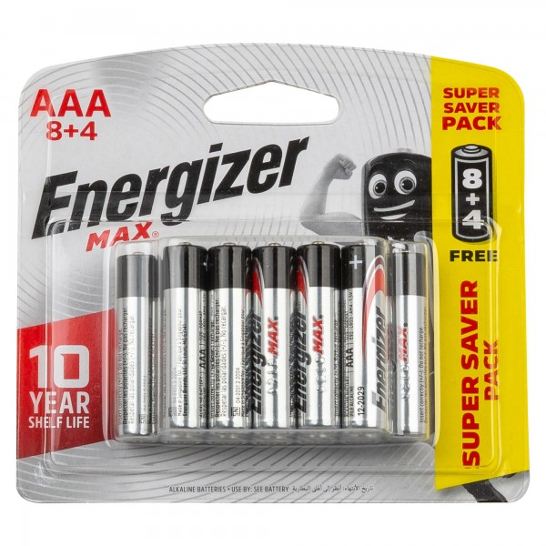 Energizer AAA 8+4 FREE 106825-V003 by Energizer