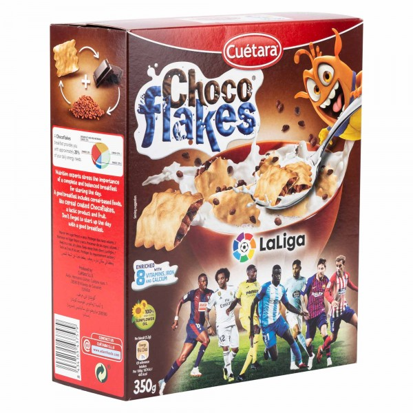 Cuetara Choco Flakes 375G 271559-V001 by Cuetara