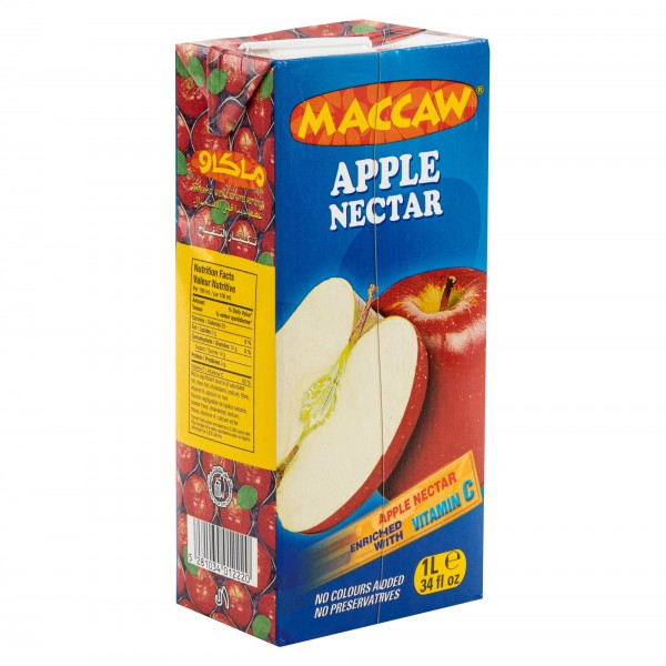 Maccaw Apple Nectar Carton 1L 271776-V001