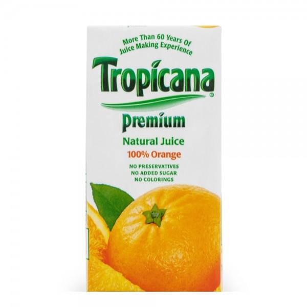 Tropicana Orange Tetra Premium 100% 180ml 272375-V001 by Tropicana