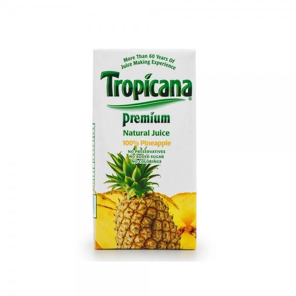 Tropicana Pineapple Tetra 180ml 272389-V001 by Tropicana