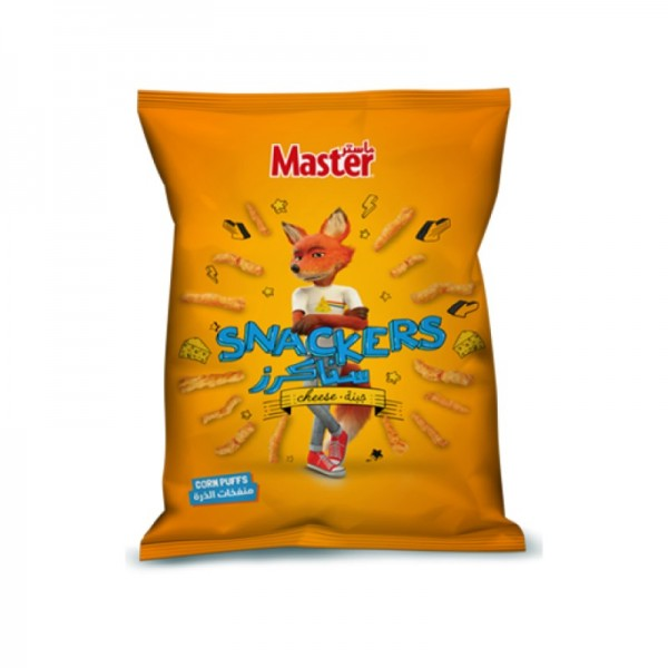 Master Snackers Curls Nacho Cheese 96g 275515-V001 by Master Chips