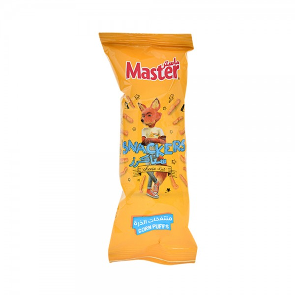 Master Snackers Curls Nacho Cheese 18g 275516-V001 by Master Chips