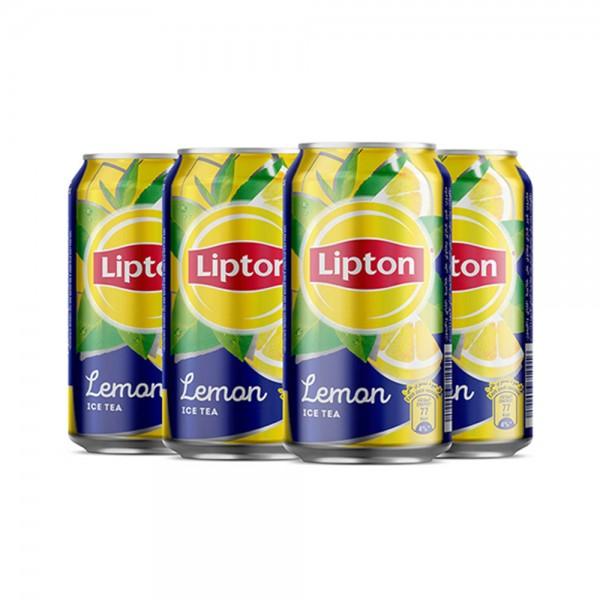 Lipton Ice Tea Lemon Can 5+1 Free - 6X320Ml 277237-V002 by Lipton