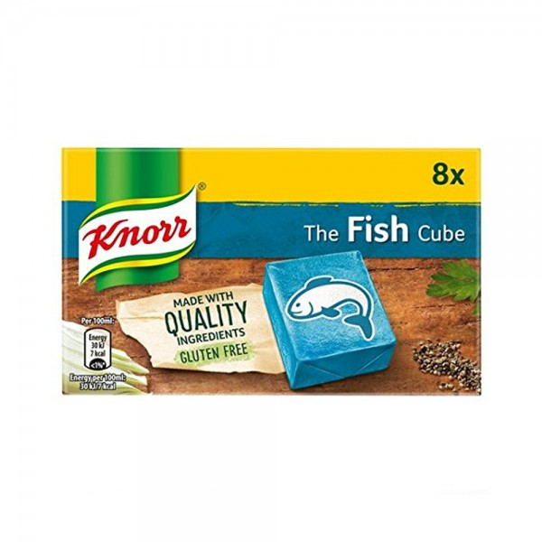 CUBE FISH 8 PCS 284990-V001 by Knorr