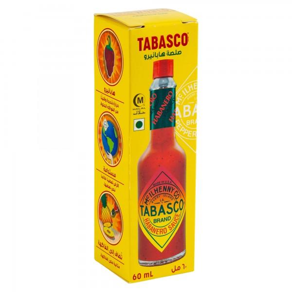 Mcilhenny Co. Tabasco Habanero Pepper Sauce 60ml 286263-V001 by Tabasco McIlhenny co.