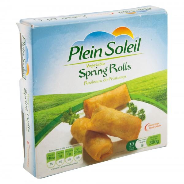 Plein Soleil Vegetable Spring Rolls Frozen 300G 289248-V001 by Plein Soleil