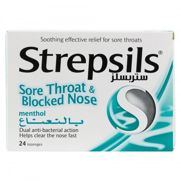 Strepsils Menthol 24 Lozenges 290009-V001