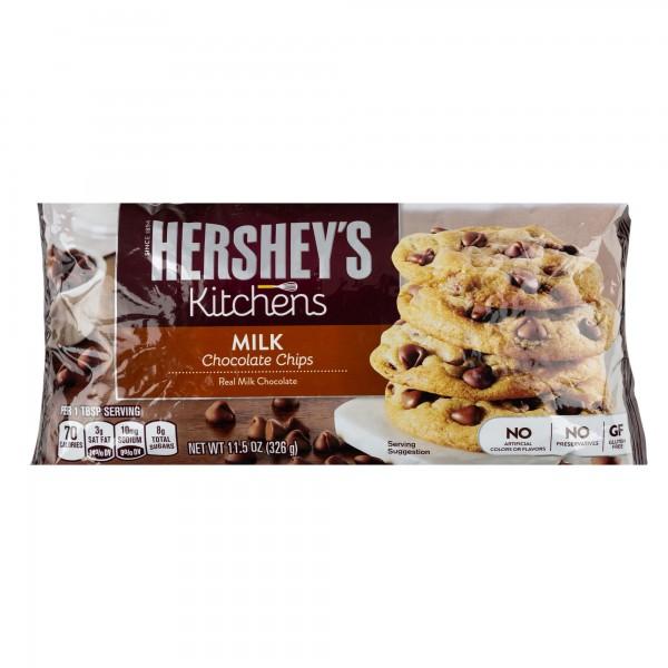 Hershey's Kitchens Milk Chocolate Baking Chips Bag 326G 291447-V001 by Hershey's