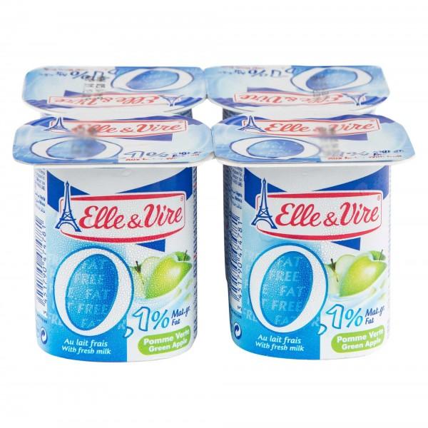 Elle & Vire Dessert Lacte Pomme Verte Light 125G 292304-V001 by Elle & Vire